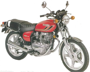 HONDA CB250T Dream